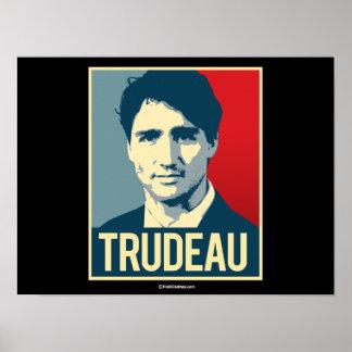 Poster de la propaganda de Trudeau - .png Póster