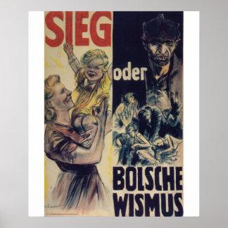 Poster de la propaganda del Bolshevism