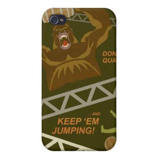 Poster de la propaganda del juego de arcada - para iPhone 4/4S carcasa