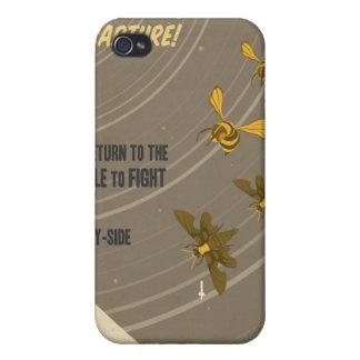 Poster de la propaganda del juego de arcada - para iPhone 4 carcasas