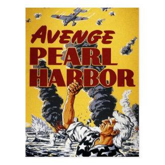 Poster de la propaganda del tiempo de guerra WW2 Postal