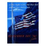 Poster de la propaganda del tiempo de guerra WW2 Tarjeta Postal