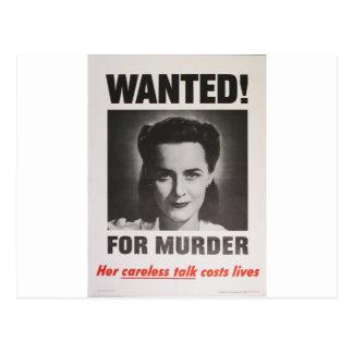 """Poster de la propaganda """"querido para el postales"""