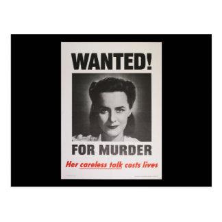 """Poster de la propaganda """"querido para el tarjetas postales"""