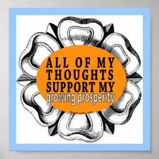 Poster de la prosperidad