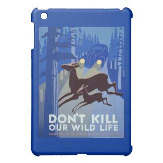 Poster de la protección de la fauna de WPA del vin