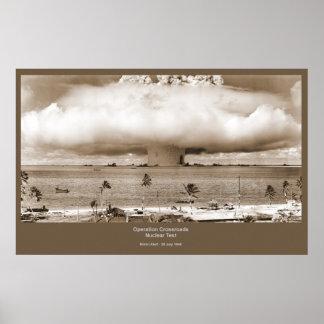 Poster de la prueba nuclear