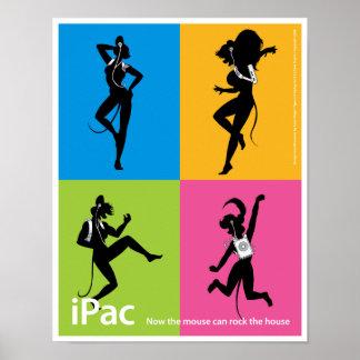 poster de la publicidad del iPac