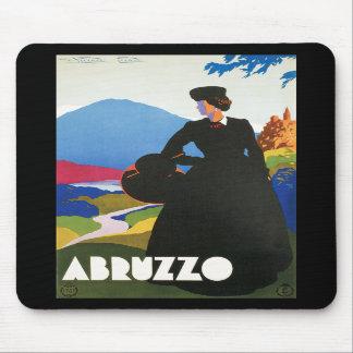 Poster de la publicidad del viaje del vintage de A Alfombrillas De Raton