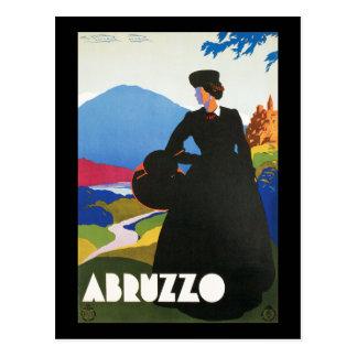 Poster de la publicidad del viaje del vintage de postales