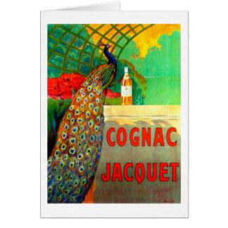 Poster de la publicidad del vintage de Jacquet del Tarjetas