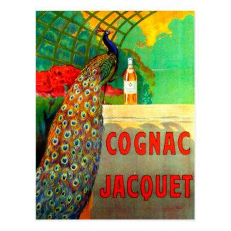 Poster de la publicidad del vintage de Jacquet del Tarjeta Postal