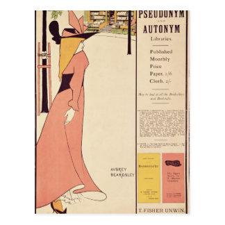 Poster de la publicidad para 'el Book amarillo Postal