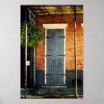 Poster de la puerta de New Orleans
