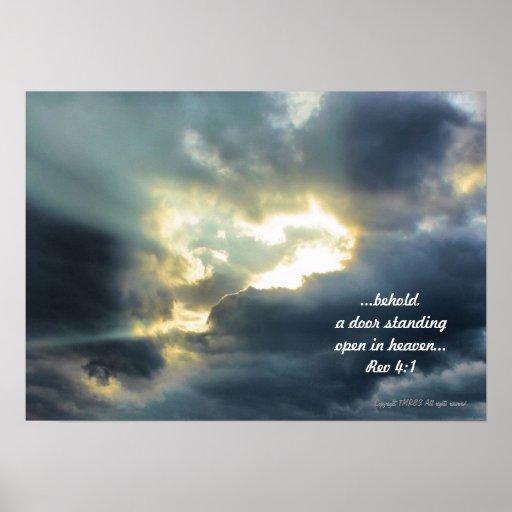 Poster de la puerta del cielo