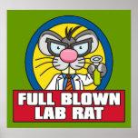 Poster de la rata del laboratorio