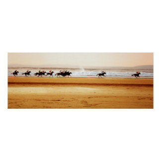 poster de la raza de la playa del ballybunion