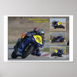 Poster de la raza de Nathan Gardner