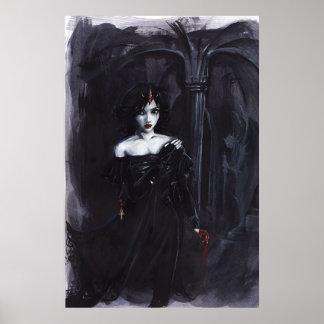 Poster de la reina Kay del vampiro