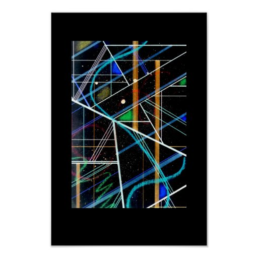 Poster de la rejilla del color