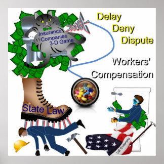 Poster de la remuneración del trabajador de los E. Póster