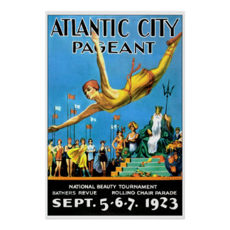 Poster de la reproducción de Atlantic City Pagent