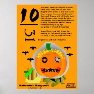 Poster de la resaca de Halloween