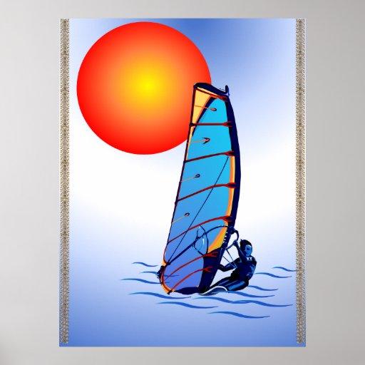 Poster de la resaca del viento póster