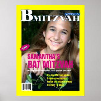 Poster de la revista de B Mitzvah