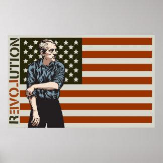 Poster de la revolución de Ron Paul