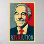 Poster de la revolución de Ron Paul Póster