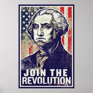 Poster de la revolución de Washington Póster