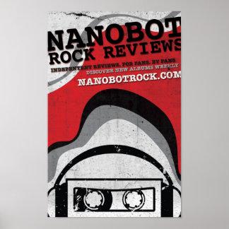 Poster de la roca de Nanobot Póster