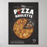 Poster de la ruleta de la pizza
