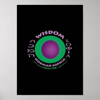 Poster de la sabiduría