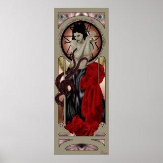 poster de la sacerdotisa del cthulhu