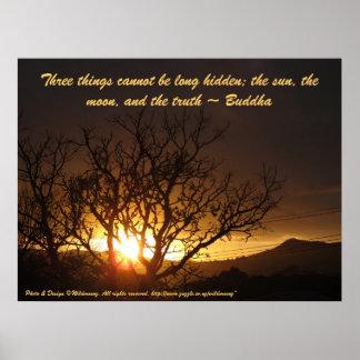 Poster de la salida del sol