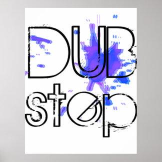 Poster de la salpicadura de DubStep