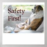 Poster de la seguridad