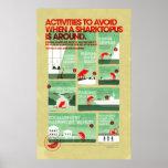 Poster de la seguridad de Sharktopus