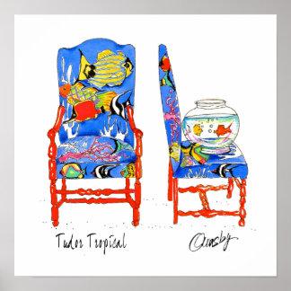 Poster de la silla