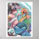 """Poster de la sirena de los """"nuevos descubrimientos"""