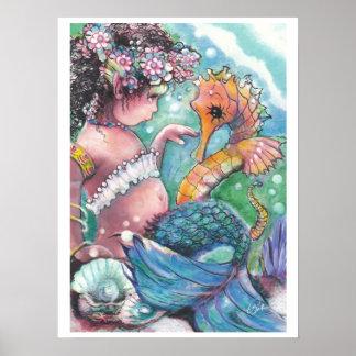 Poster de la sirena de los nuevos descubrimientos