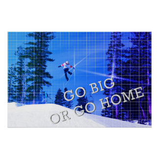 Poster de la snowboard