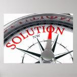 Poster de la solución
