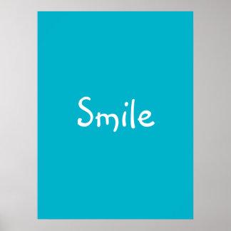 "Poster de la ""sonrisa"""