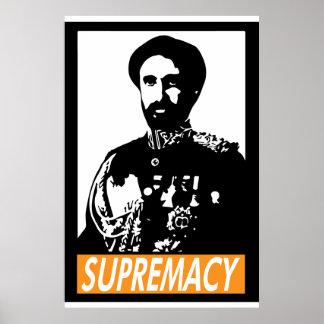Poster de la SUPREMACÍA de Haile Selassie I