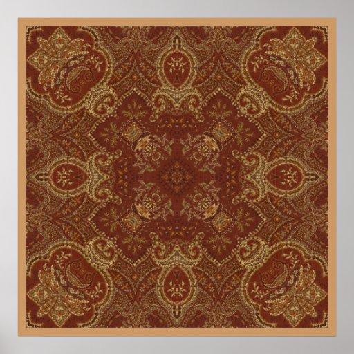 Poster de la tapicería 2 del moho de Kreations del