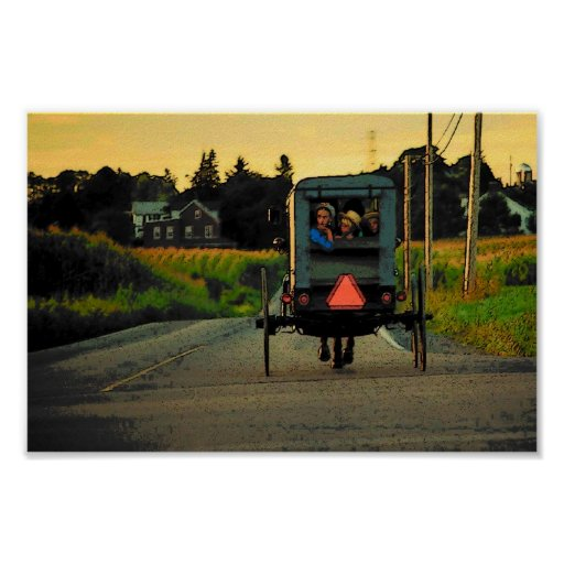 Poster de la tarde de Amish Póster
