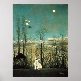 Poster de la tarde del carnaval de Henri Rousseau Póster